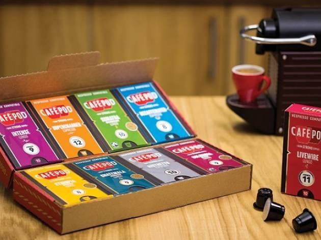 80 Nespresso® compatible coffee capsules