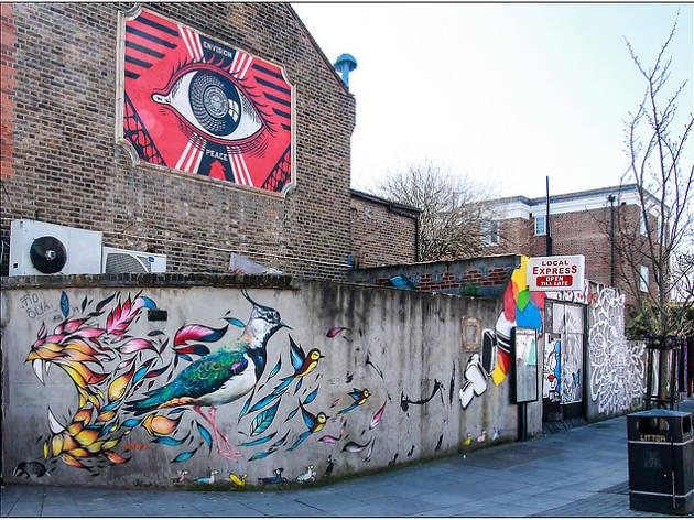 Street art in Turnpike Lane
