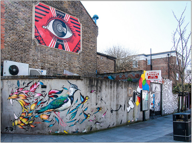 London's street art neighbourhoods: Turnpike Lane