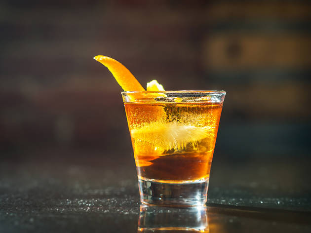 The Summit Bar old fashioned