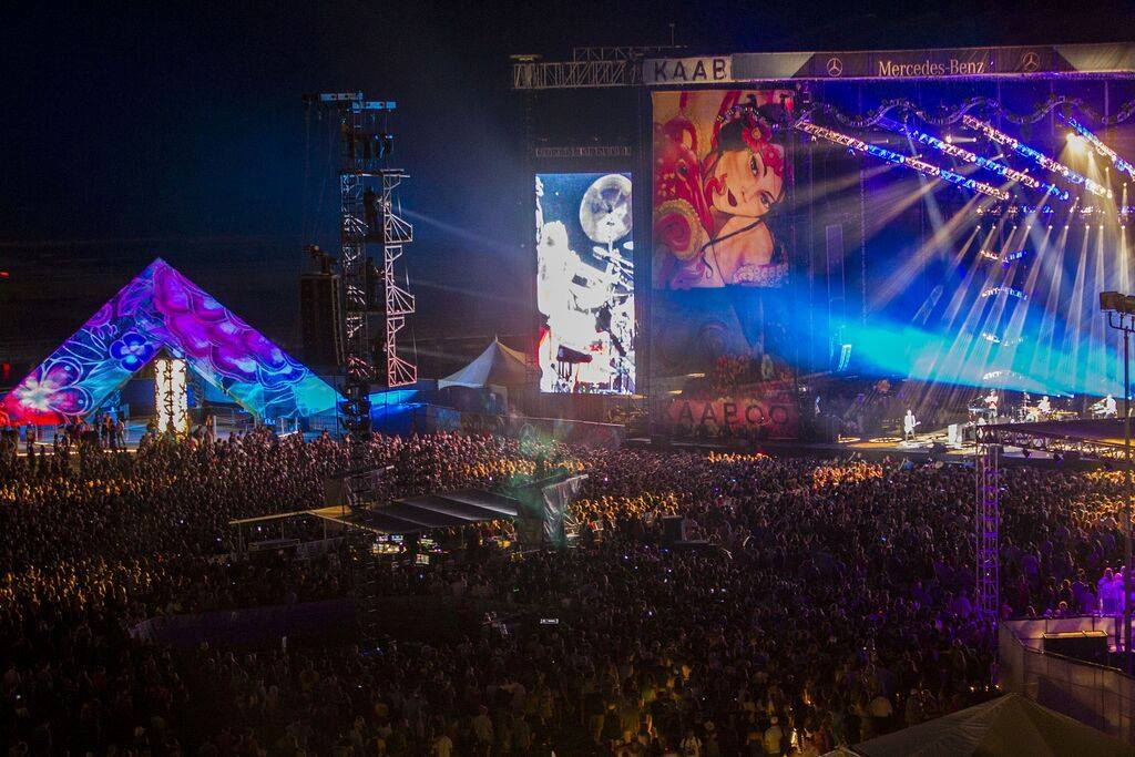 Kaaboo 2017 lineup includes Muse, Jane's Addiction, Red Hot Chili Peppers