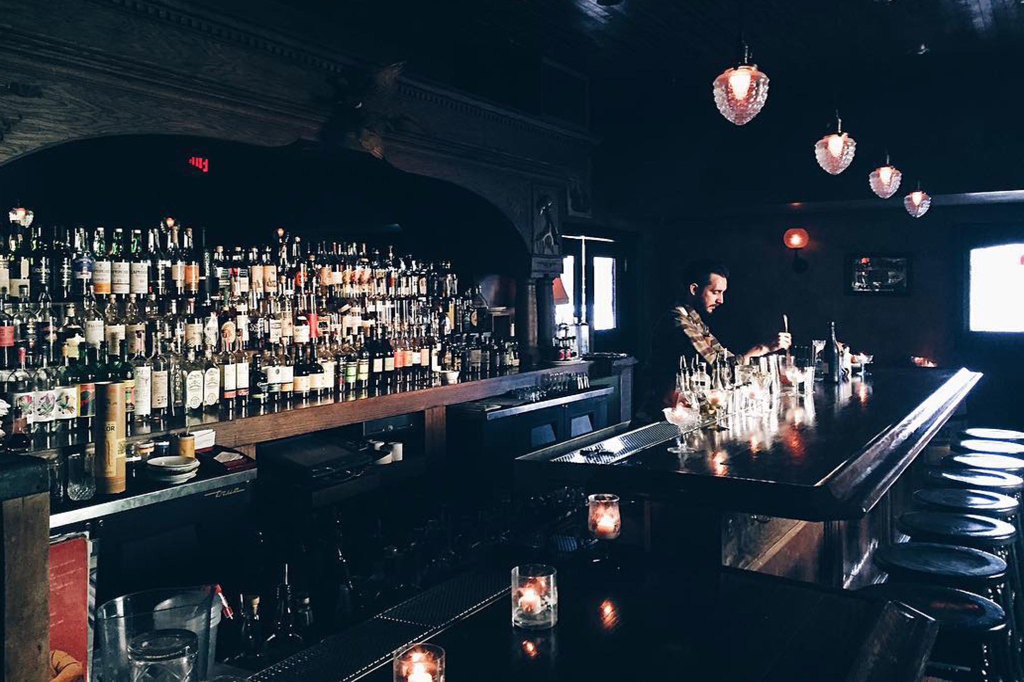 Old Man Bar at Hatchet Hall