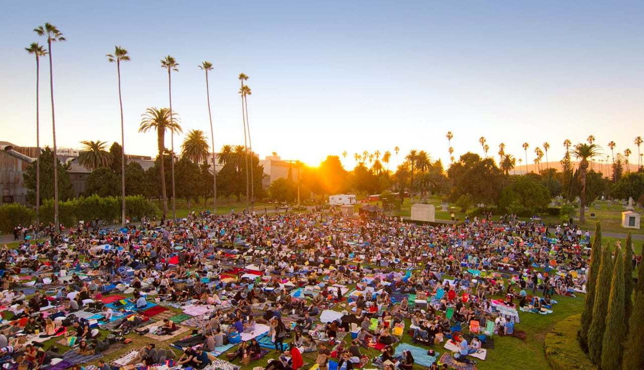 Cinespia announces the first of their 2017 outdoor screenings at Hollywood Forever Cemetery