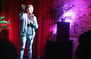 Wolf Comedy at Knox Street Bar 2016 image feat Michael Hing