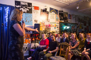 Mug and Kettle Comedy open mic photo from March 2015 (c) Time Out Sydney photographer credit Anna Kucera