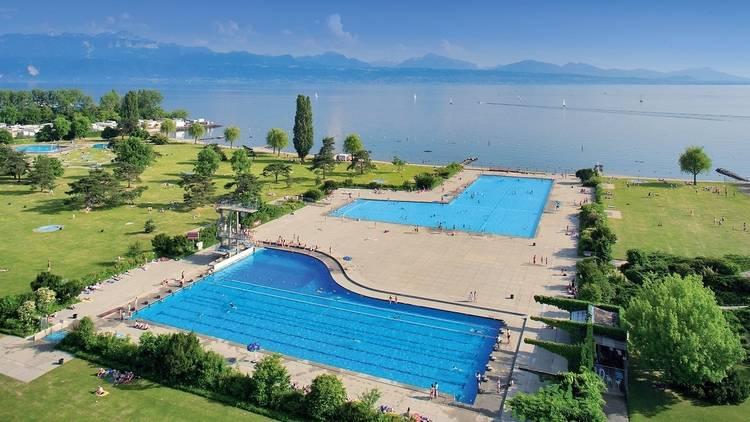 Lausanne swimming pool