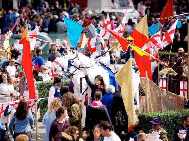 St George's Day in London