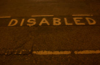 Disabled bay