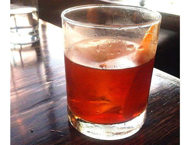 Old-Fashioned at the Corner Door