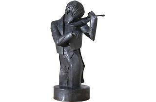 'El violinista', de Pau Gargallo