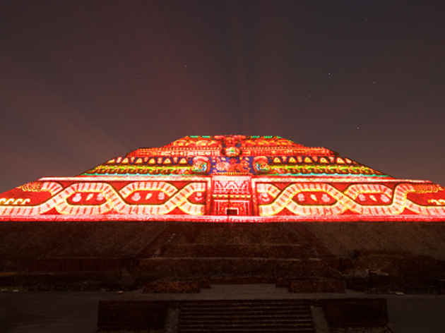 Experiencia nocturna Teotihuacán