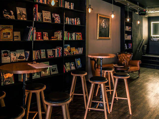 The Bibliotheca Bar and Book Exchange