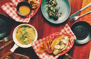 Various dishes at NOLA Adelaide
