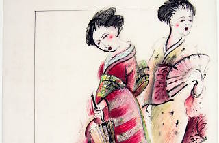 Costume design by Jennie Tate for Madame Butterfly, Oz Opera tour, 2008