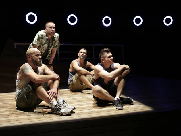 Savages 2016 Darlinghurst Theatre Company production image 01 photographer credit Helen White