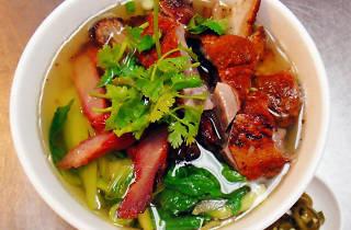 Combination Roast Noodle Soup at NanYang Café