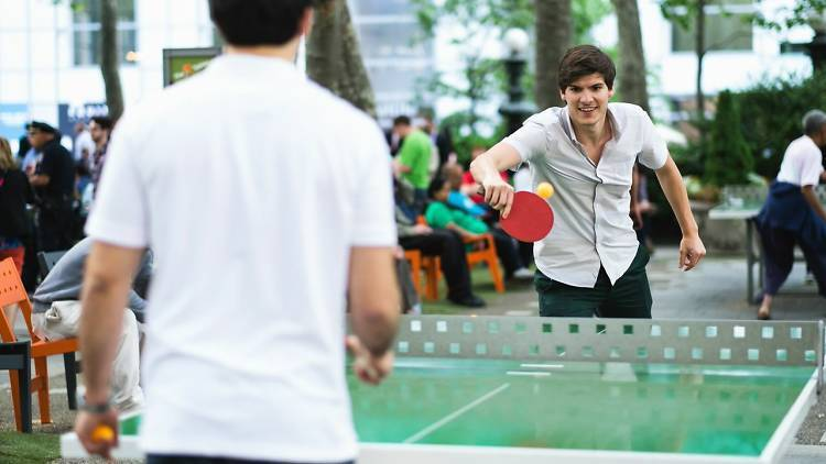 Everything you can do in Bryant Park this summer