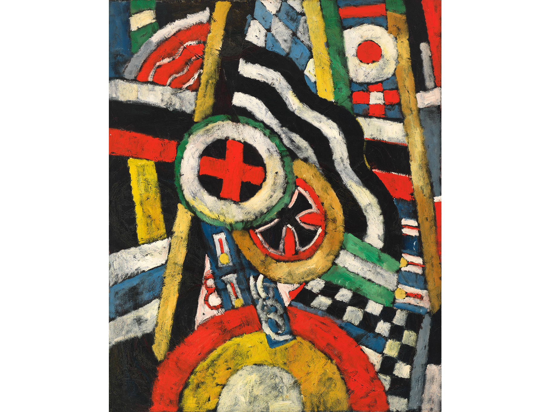 Marsden Hartley, Painting, Number 5, 1914–15