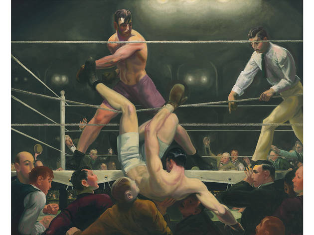 George Bellows, Dempsey and Firpo, 1924