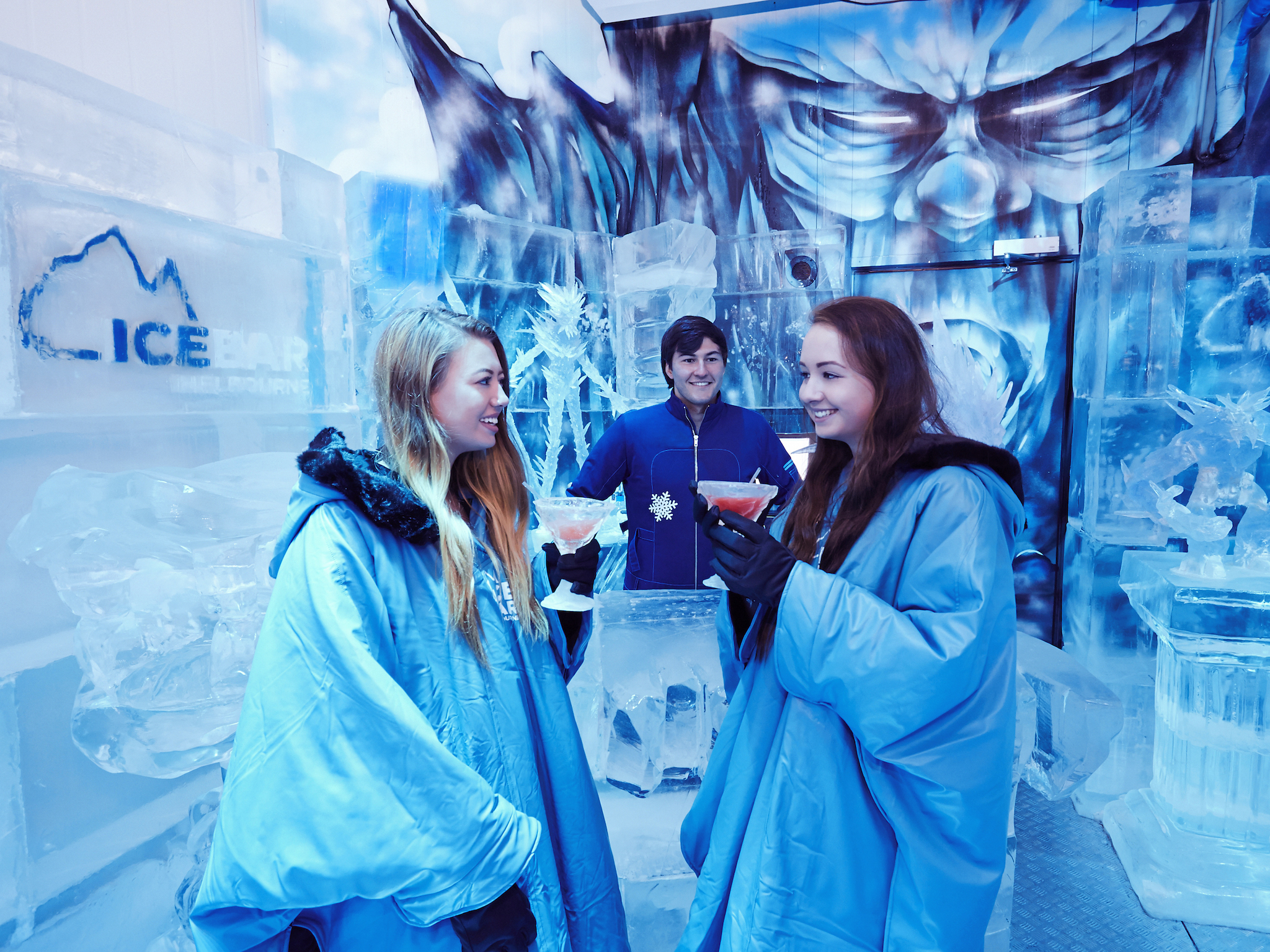 Cool off at Ice Bar