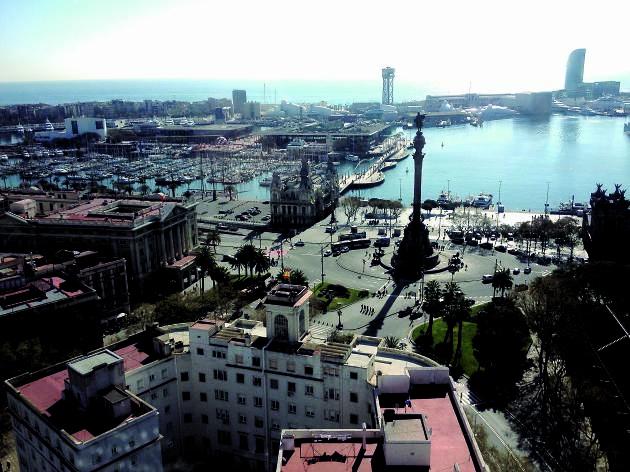 Vista Edifici Colón