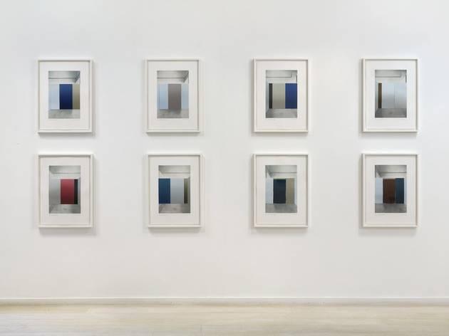 (Paul Winstanley: 'Art School' exhibition view. © the artist. Photo: Peter White)