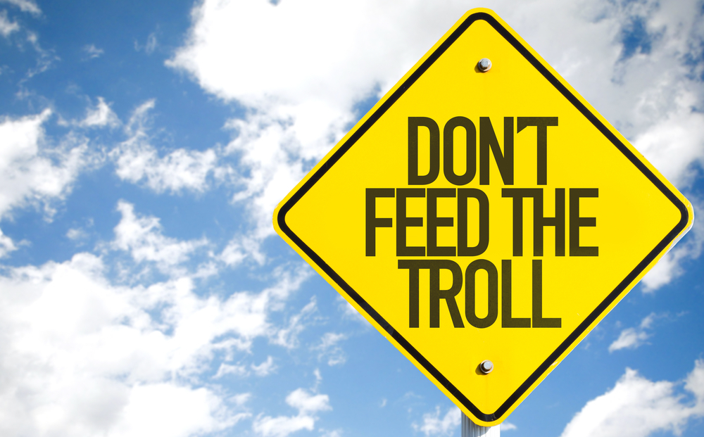 No alimenteu els trols