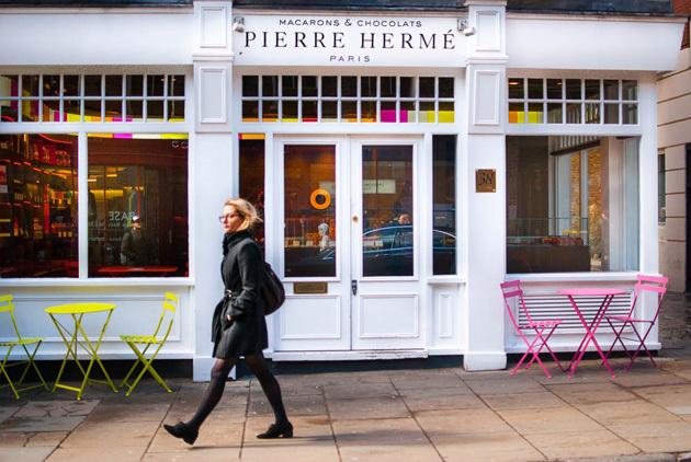 Pierre Hermé on Monmouth St