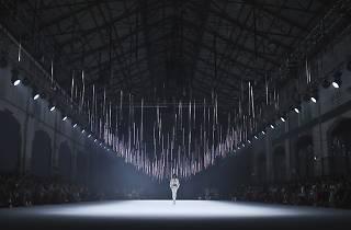 Fashion runway show