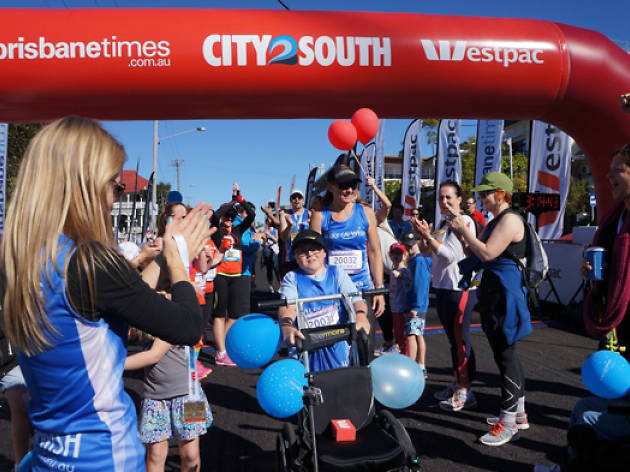The Brisbane Times City2South (courtesy of Fairfax)