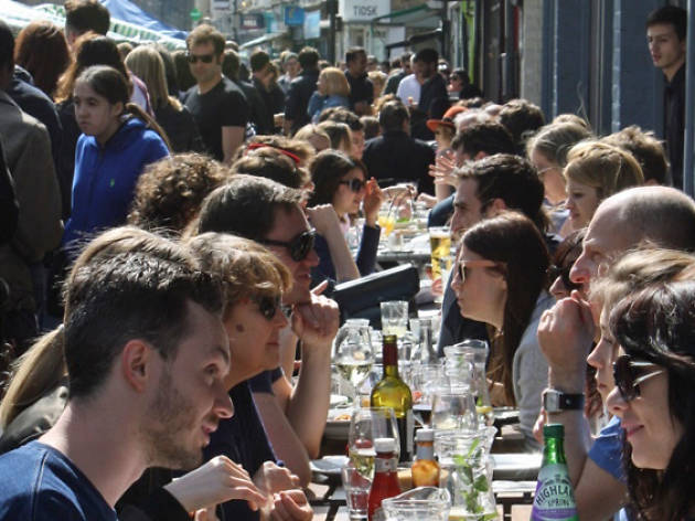 In pictures: Broadway Market on a busy Saturday