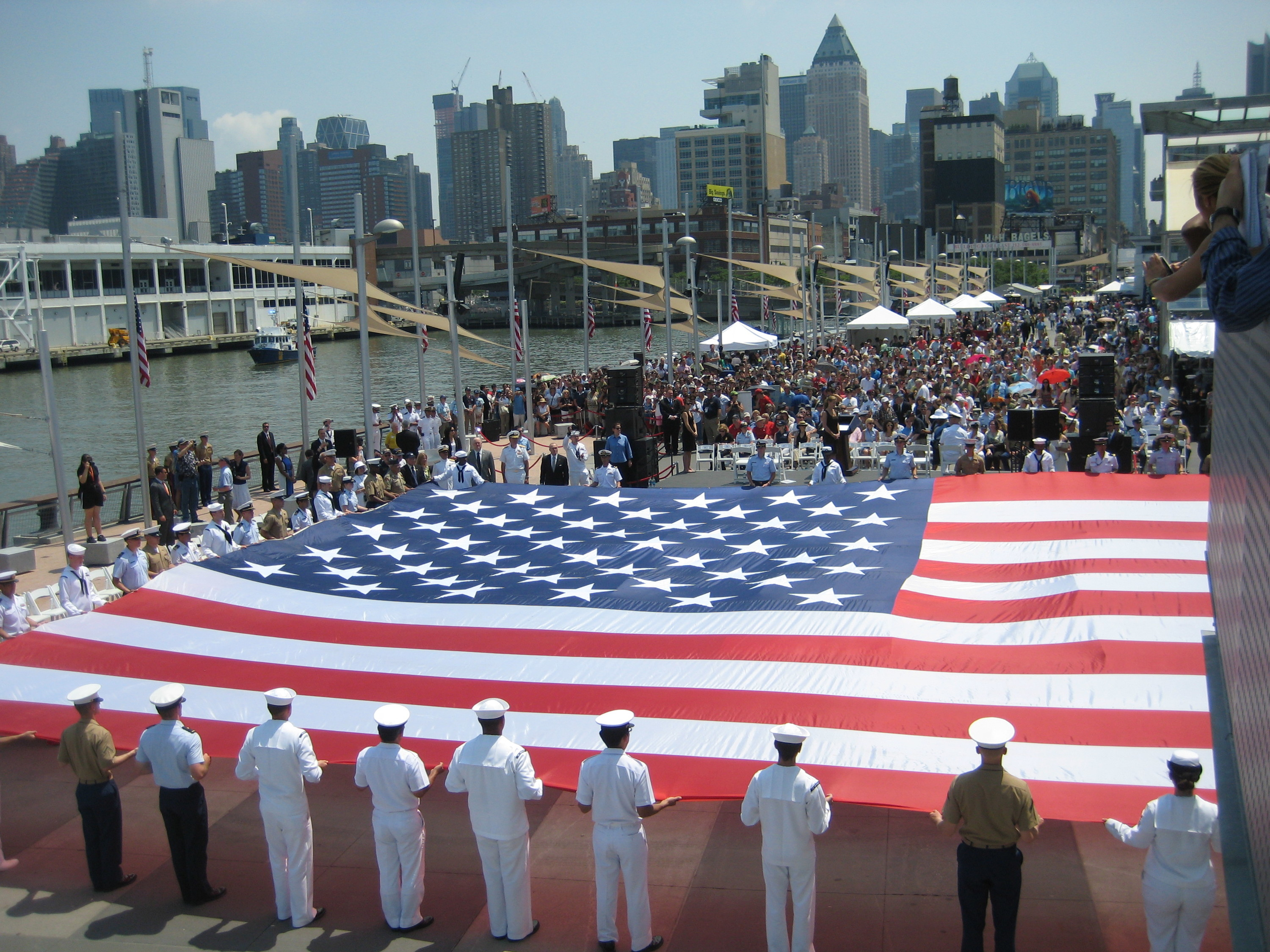 Fleet Week at the Intrepid