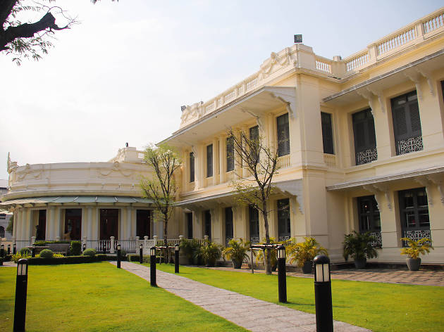 A nice view of Queen Sirikit Museum of Textiles