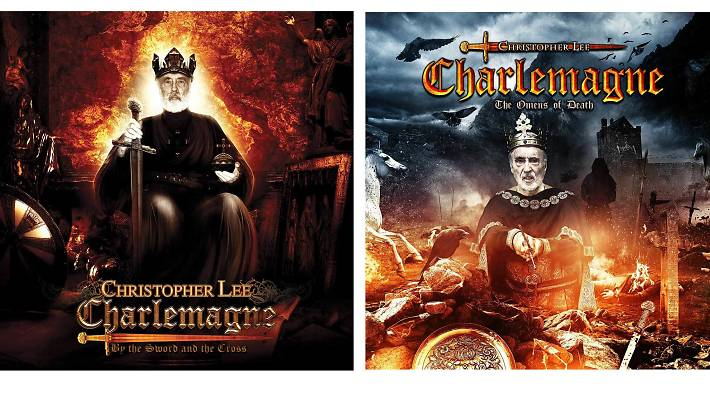 'Charlemagne: By the Sword and the Cross' and 'Charlemagne: The Omens of Death' - Sir Christopher Lee