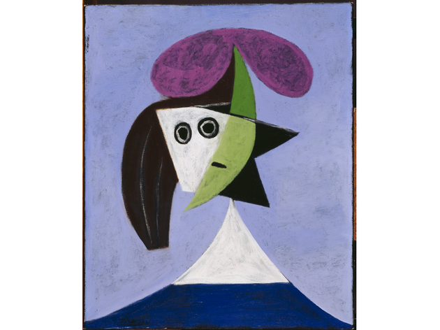 (Pablo Picasso: 'Woman in a Hat (Olga)', 1935. © Succession Picasso/DACS London, 2016)