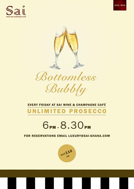 Bottomless Bubbly