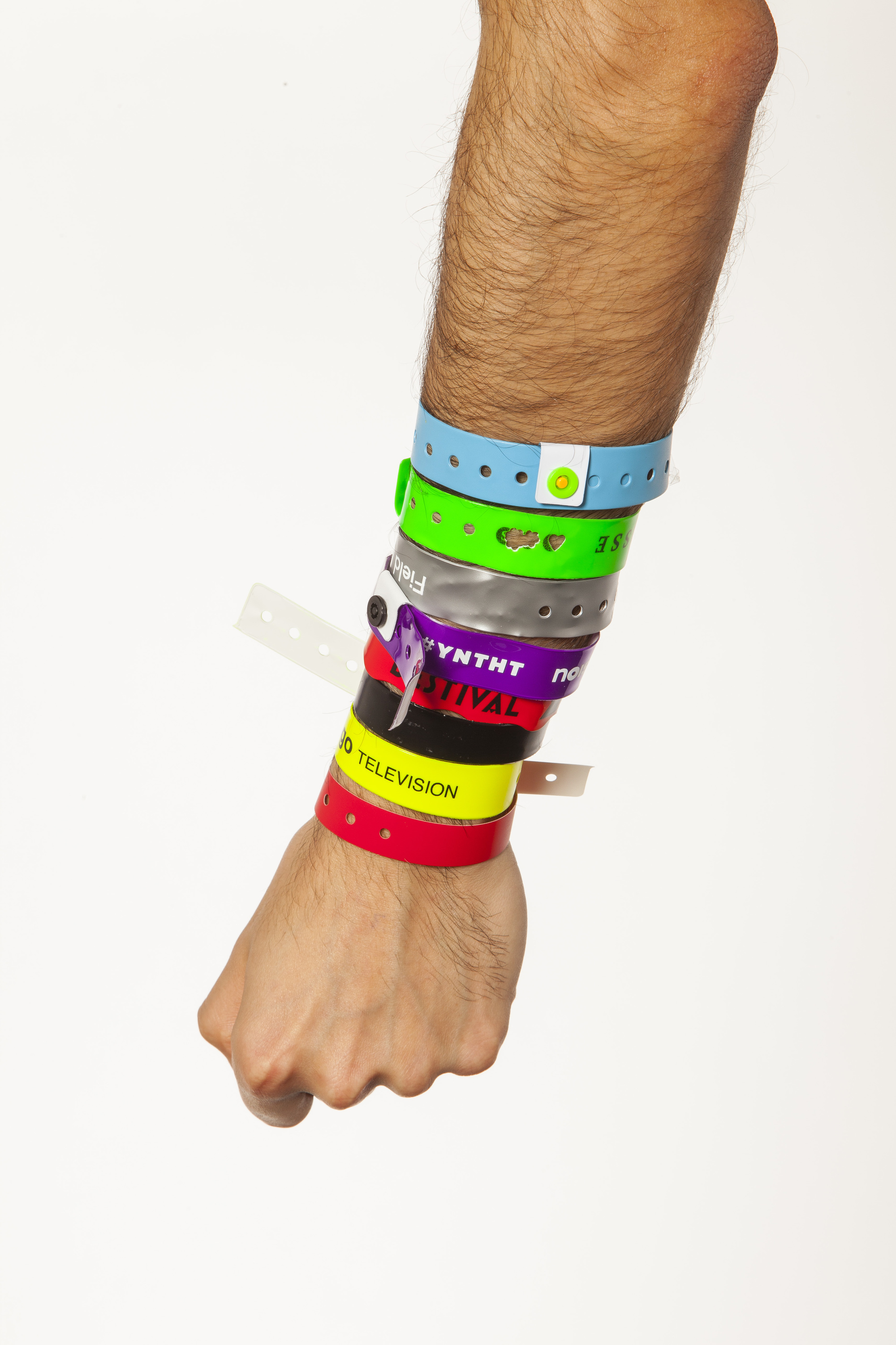 festival comments music pics r and years vecqwnm wristbands of discoloured one bracelet arm