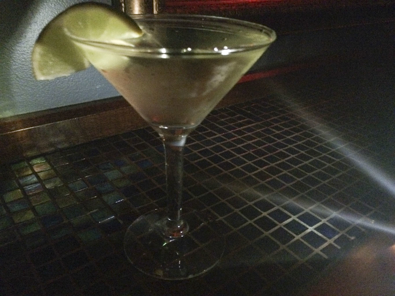 Gimlet at Marty's Martini Bar