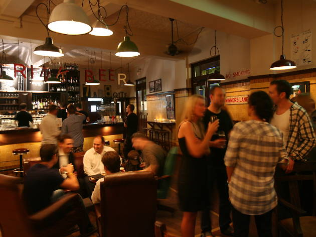Interior of The Local Taphouse in Sydney