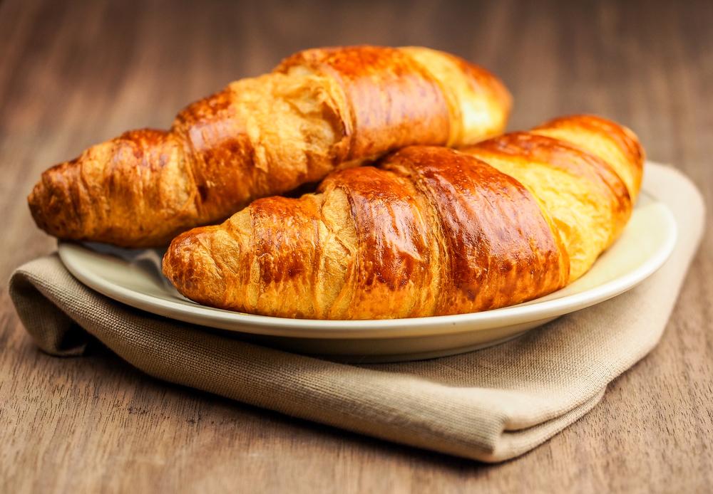 Els croissants de mantega de la Pastisseria Noguera