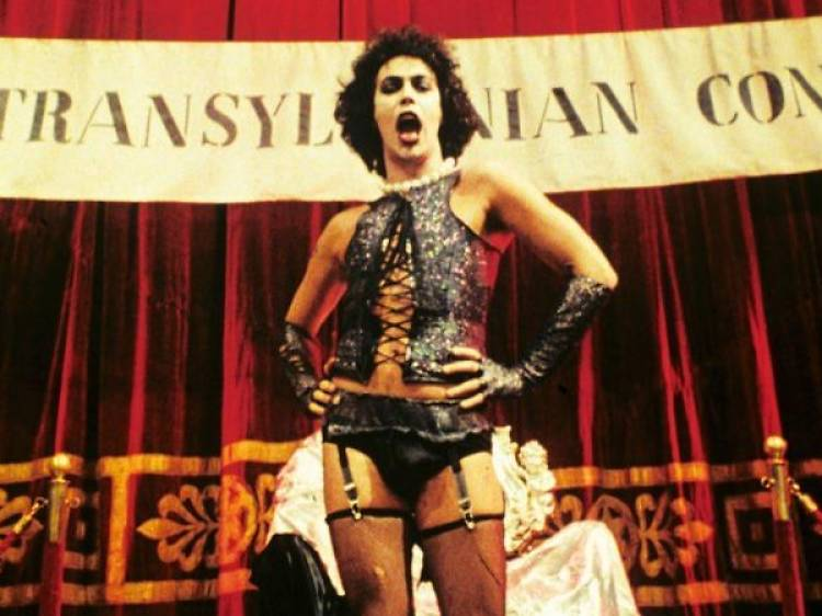 Tim Curry dans 'The Rocky Horror Picture Show'