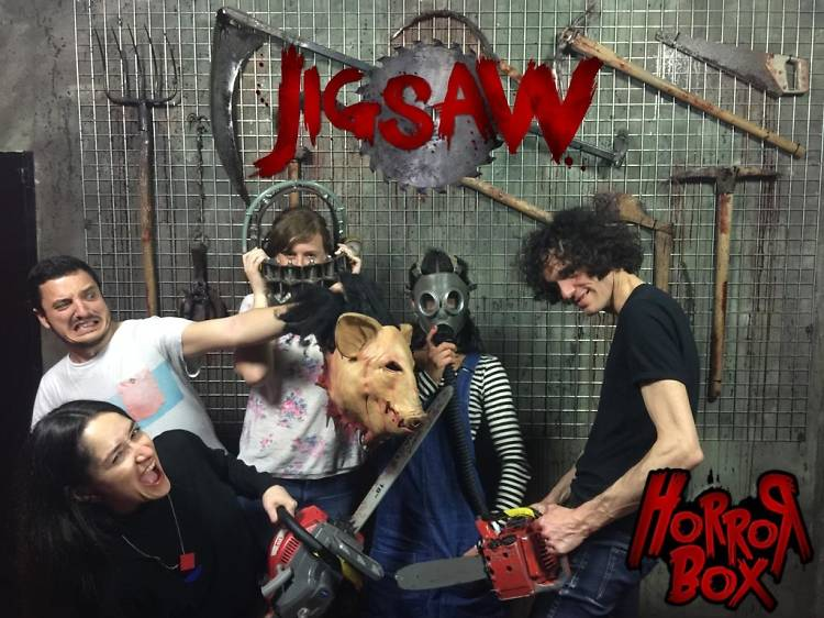 Jigsaw Escape Room