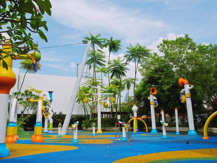 Splash Park at Sembawang Shopping Centre