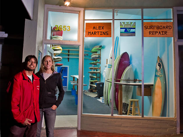 Alex Martins Surfboard Repair