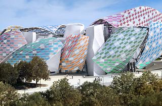 Daniel Buren Fondation Louis Vuitton