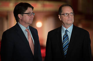 Dean Strang and Jerry Buting from Making a Murderer