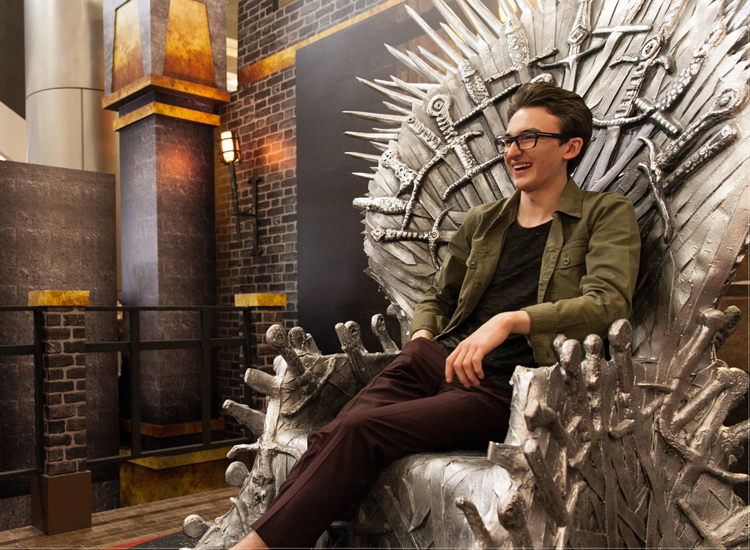 Interview: Isaac Hempstead-Wright, aka Bran Stark on 'Game of Thrones'