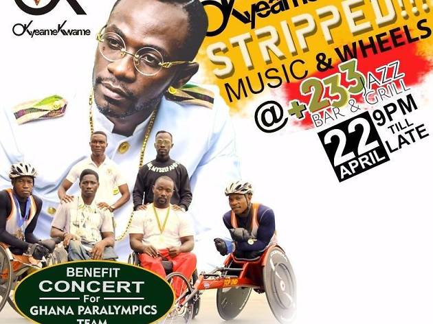 Okyeame Kwame Music & Wheels concert,+233 Jazz & Grill Bar,Accra/Ghana