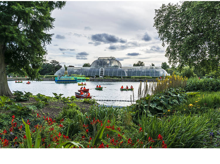 Make your way to Kew Gardens