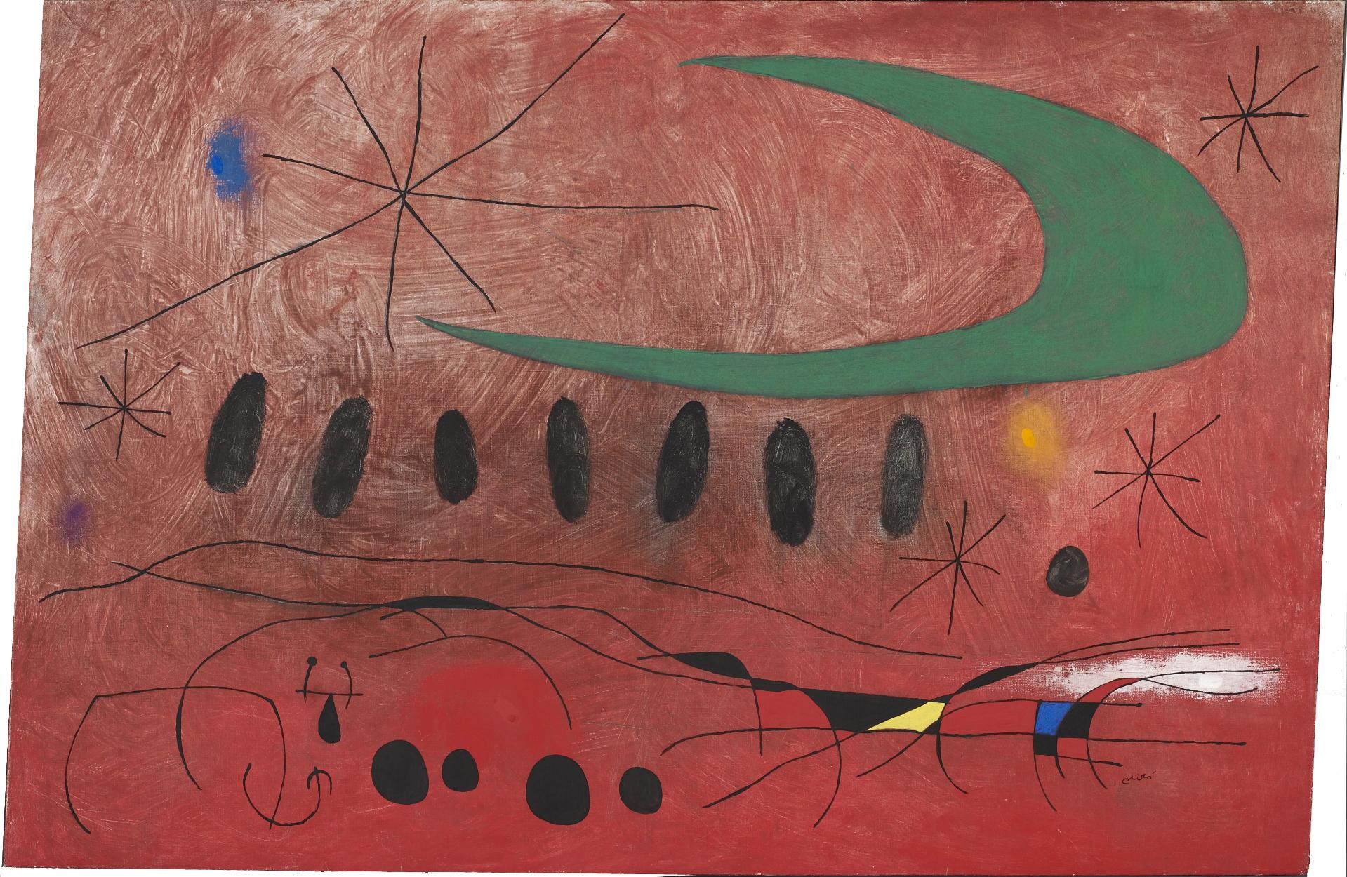 6 obres mestres de Miró que pots veure a la col·lecció permanent